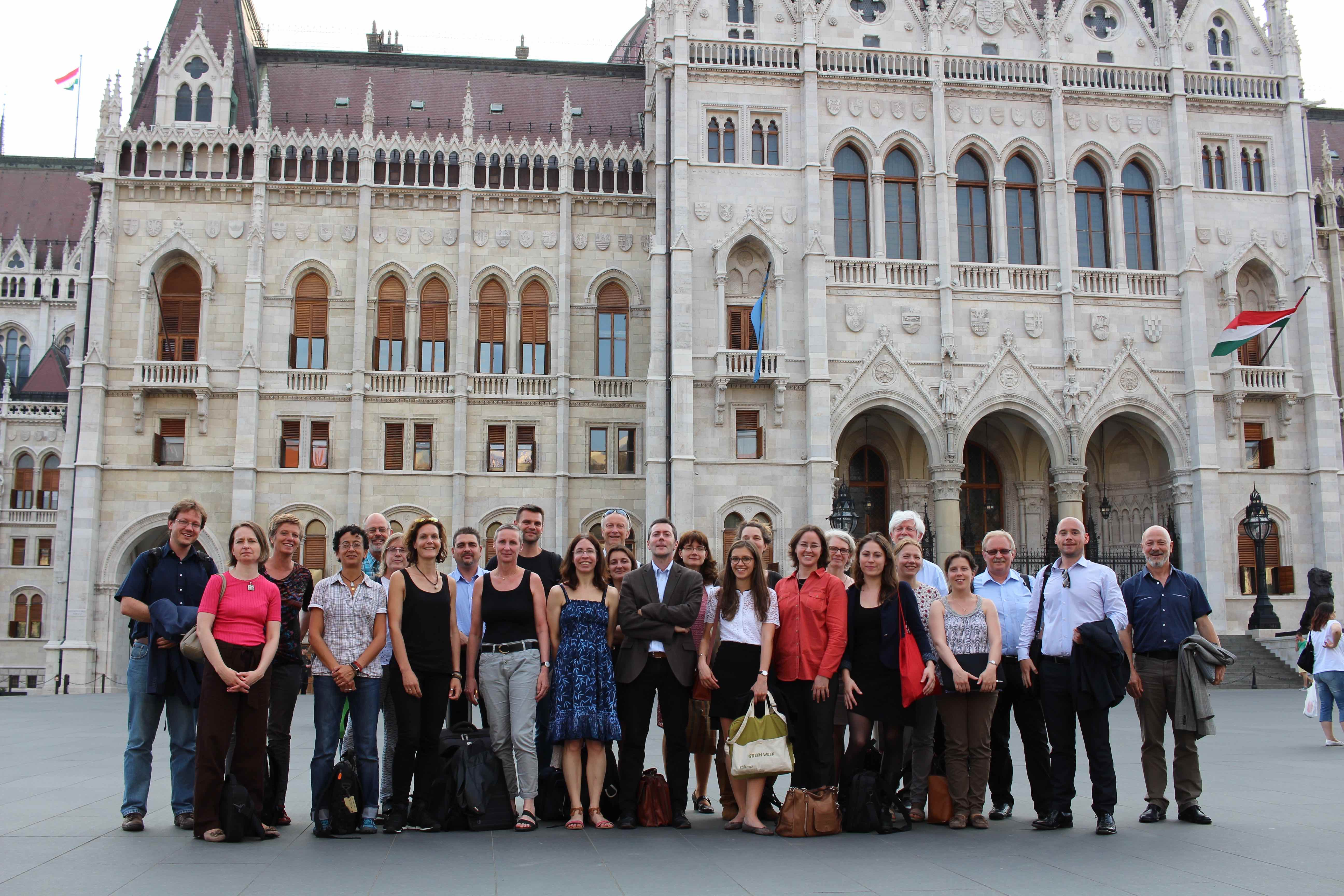 BiodivERsA partners at the BiodivERsA General Assembly in Budapest, June 2016